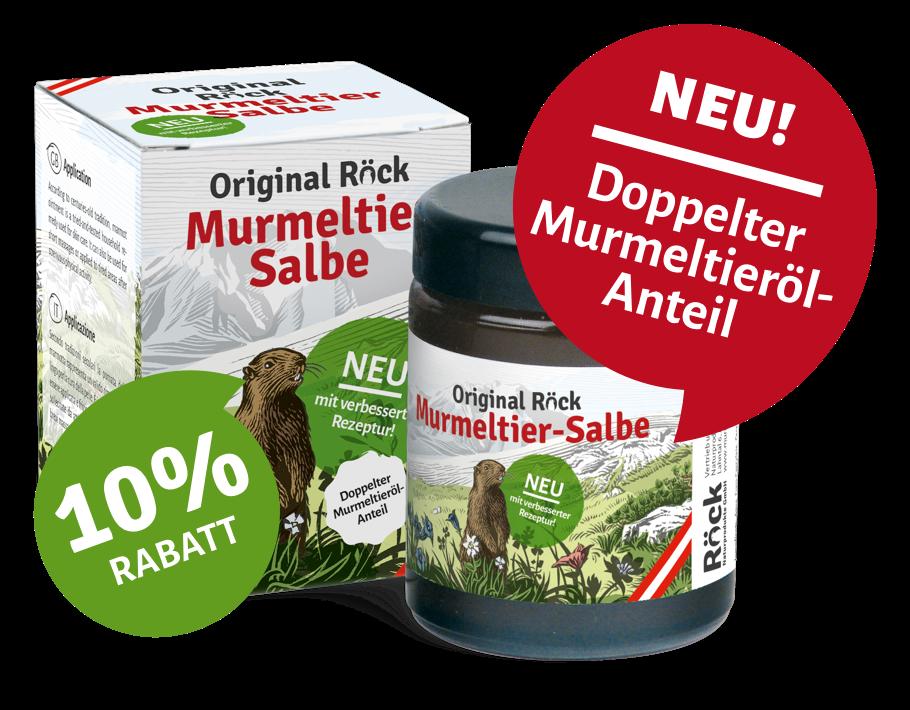 Murmeltier Salbe Original Röck